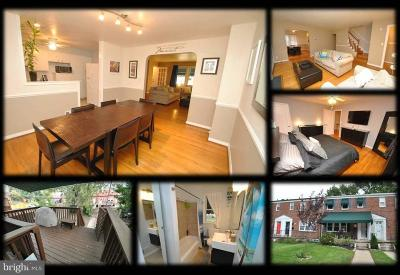 Towson Townhouse For Sale: 1706 Aberdeen Road