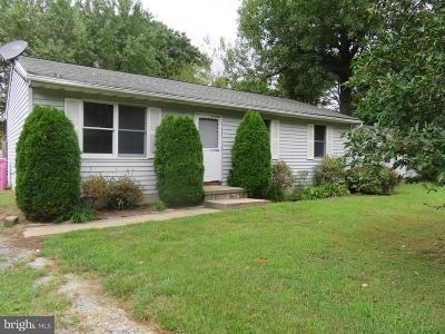 Bay City Single Family Home For Sale: 610 Romancoke Road