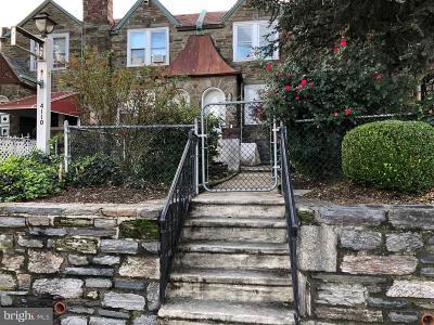 Philadelphia PA Townhouse For Sale: $199,000