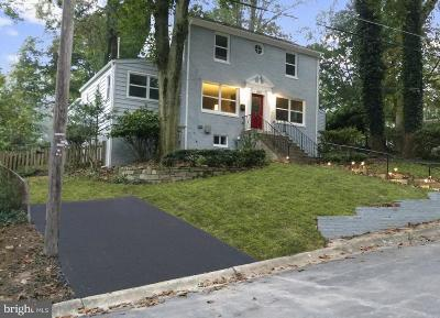 Upper Marlboro, Laurel, Rockville, Silver Spring Single Family Home For Sale: 10815 Lorain Avenue