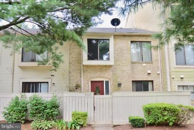 Montgomery Village Townhouse For Sale: 9329 Jarrett Court