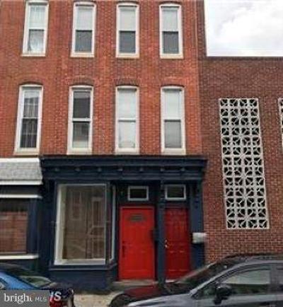 Multi Family Home For Sale: 1312 Light Street