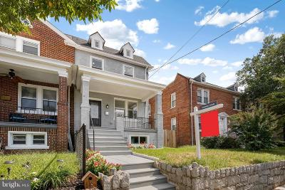 Washington DC Townhouse For Sale: $824,900