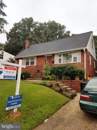 New Carrollton Single Family Home For Sale: 8412 Sprague Place