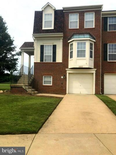 Upper Marlboro Townhouse Under Contract: 14007 Silver Teal Way