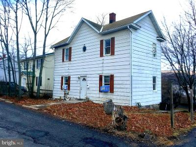 Frostburg Single Family Home For Sale: 185 Bowery Extd Street