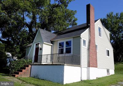 Baltimore County Single Family Home For Sale: 5400 Hamilton Avenue