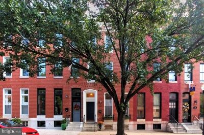 Baltimore Townhouse For Sale: 15 N Chester Street