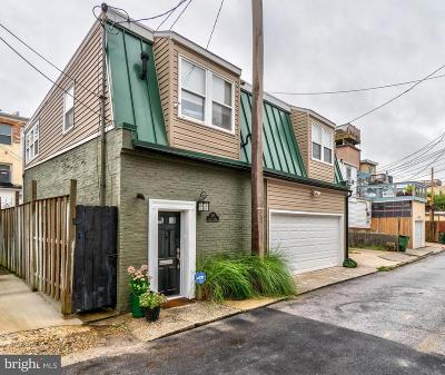 Canton, Federal Hill, Federal Hill Area, Federal Hill;, Federall Hill, Fell Point, Fells Point, Fells Point Upper, Inner Harbor Single Family Home For Sale: 1123 Durst Street
