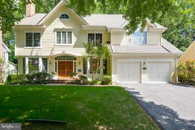 Arlington County Single Family Home For Sale: 3601 Jefferson Street