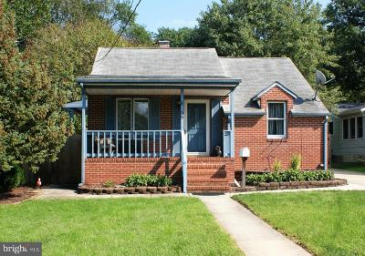 Linthicum Heights Single Family Home For Sale: 35 Hampton Road