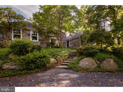 Villanova Single Family Home For Sale: 1550 Mount Pleasant Road