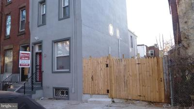 Brewerytown Townhouse For Sale: 1756 N 26th Street