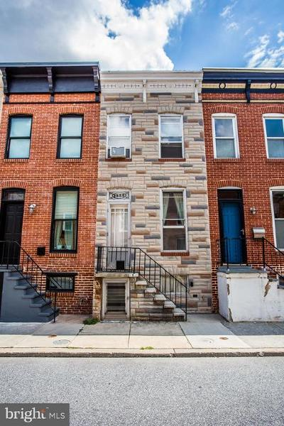 Baltimore MD Townhouse For Sale: $180,000