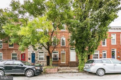 Upper Fells Point Townhouse For Sale: 326 Collington Avenue S