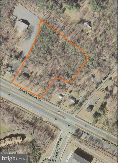 Calvert County, Saint Marys County Residential Lots & Land For Sale: 23270 Three Notch Road
