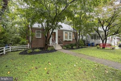 Silver Spring Single Family Home For Sale: 9106 Providence Avenue