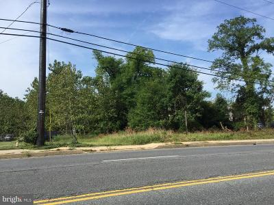 District Heights Residential Lots & Land For Sale: 5615 Marlboro Pike