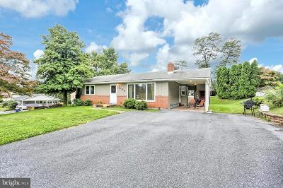 New Cumberland Single Family Home Under Contract: 465 Pleasantview Road