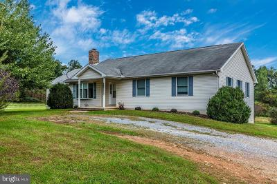 Thurmont Single Family Home For Sale: 8538 Orndorff Road