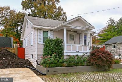 Alexandria City, Arlington County Single Family Home For Sale: 228 Glebe Road W