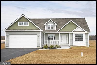 Harrington Single Family Home For Sale: Lot 84 Abagail Circle