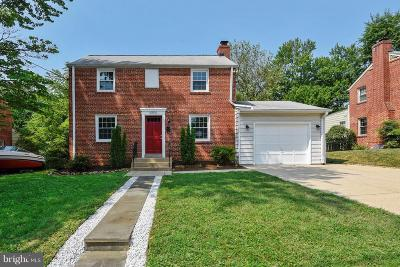 Silver Spring Single Family Home For Sale: 10510 Amherst Avenue