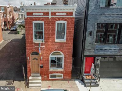 Canton, Federal Hill, Federal Hill Area, Federal Hill;, Federall Hill, Fell Point, Fells Point, Fells Point Upper, Inner Harbor Single Family Home For Sale: 1437 Marshall Street