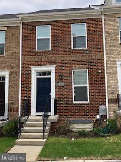 Washington Townhouse For Sale: 1145 Trenton Place SE