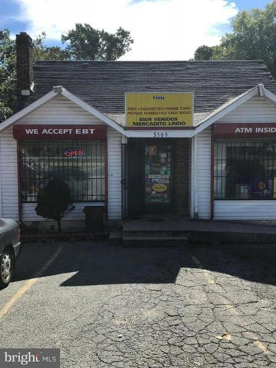 Anne Arundel County, Calvert County, Charles County, Prince Georges County, Saint Marys County Commercial For Sale: 5509 Landover Road