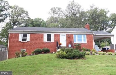 Great Falls Single Family Home For Sale: 1064 Utterback Store Road
