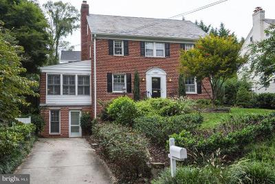 Chevy Chase Single Family Home For Sale: 7610 Lynn Drive