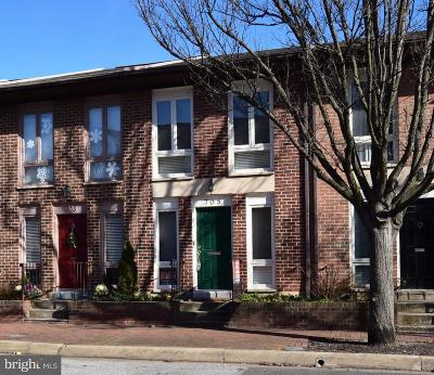 Otterbein Townhouse For Sale: 705 Hanover Street