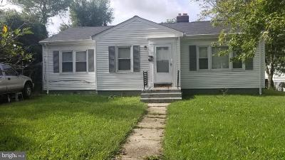 Oxon Hill Single Family Home For Sale: 148 Onondaga Drive