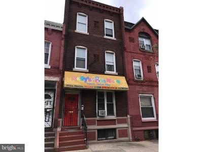 Philadelphia Multi Family Home For Sale: 2914 W Girard Avenue