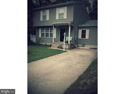 Sicklerville Single Family Home For Sale: 37 Winfield Road