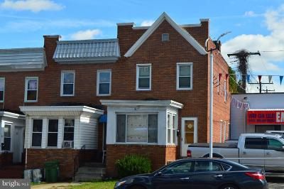 Baltimore Townhouse For Sale: 5015 Belair Road