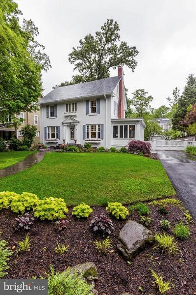 Chevy Chase Single Family Home For Sale: 11 Hesketh Street