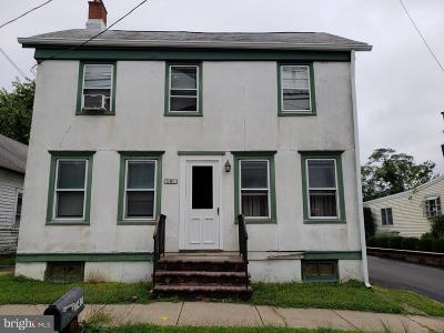 Fieldsboro Single Family Home For Sale: 245 4th Street