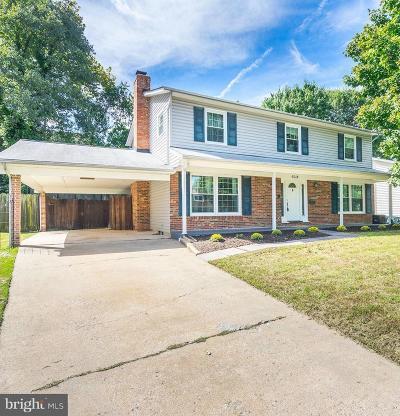 Alexandria Single Family Home For Sale: 6018 Shaffer Drive