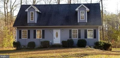 Ruther Glen Single Family Home For Sale: 12096 Longleaf Road