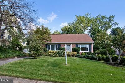 Chevy Chase Single Family Home For Sale: 8805 Walnut Hill Road
