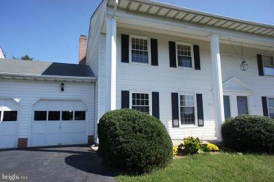 Warrenton Townhouse For Sale: 547 Tiffany Court