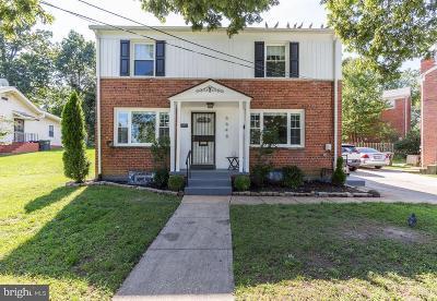 Washington Single Family Home For Sale: 6648 Eastern Avenue NW