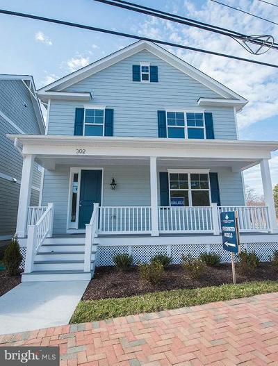 Saint Michaels Single Family Home For Sale: 302 N Talbot Street