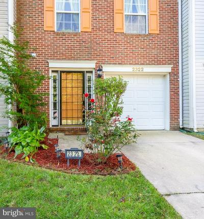 Suitland Townhouse For Sale: 2322 White Owl Way