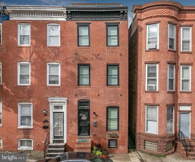 Federal Hill, Federal Hill - Riverside, Federal Hill South Townhouse For Sale: 1512 Light Street
