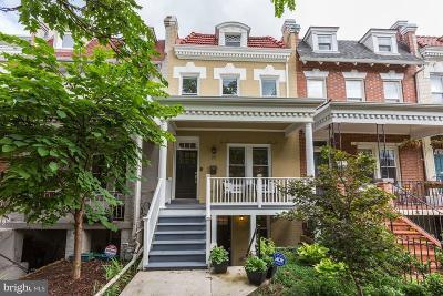 Washington Townhouse For Sale: 77 V Street NW