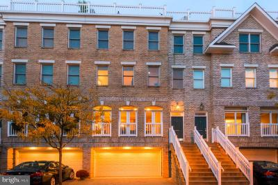 Baltimore Townhouse For Sale: 1239 Harbor Island Walk