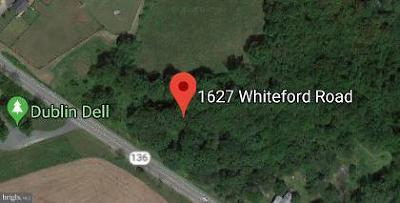 Baldwin, Kingsville, Monkton, White Hall, Aberdeen, Abingdon, Bel Air, Belcamp, Benson, Churchville, Darlington, Edgewood, Fallston, Forest Hill, Havre De Grace, Jarrettsville, Joppa, Pylesville, Street, Whiteford Residential Lots & Land For Sale: 1621-1629 Whiteford Road Route 136
